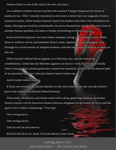 Blood Betrayal...