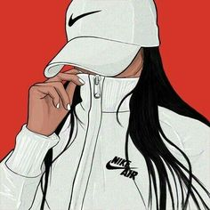 """Find and save images from the """"Dope Art"""" collection by samiyamaharaj (ThatsTooMuchSauce) on We Heart It, your everyday app to get lost in what you love. Black Girl Art, Black Women Art, Black Art, Art Girl, Arte Dope, Dope Art, Tumblr Drawings, Cute Drawings, Image Swag"""