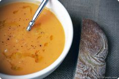 The Purple Carrot | purplecarrotkc.com: Creamy Sweet Potato Soup