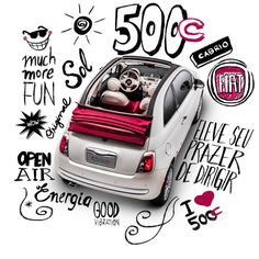 Fiat 500 Cabrio - Visual ID - Proposal by Andre Lopes, via Behance