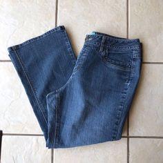 JMS Just My Size Women's Plus Size Modern Bootcut Stretch Denim Jeans Size 18W #JustMySize #StretchBootCutModern