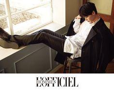Lee Jong-suk sports spring fashion   Koogle TV
