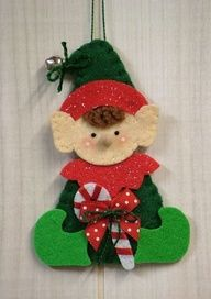 Carter and Troy's Toys: Elf Ornament