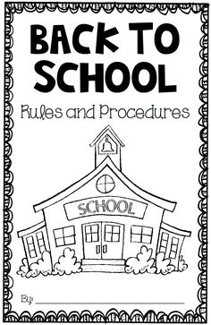 This FREE book is a great way to introduce procedures, rules, and routines the first day of school, or anytime during your back to school instruction!