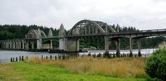 Panoramio - Photo of Siuslaw River Bridge, Oregon Coast Highway ...
