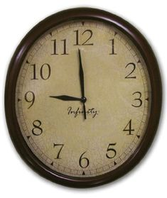 ITC (32040TF-CF-DB) Oval Wall Clock with Crackle Face ITC http://www.amazon.com/dp/B007H2SBSM/ref=cm_sw_r_pi_dp_xTKswb1W9E19B