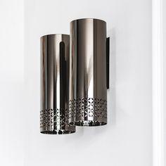 Lámpara de pared en acero ZOOM | Lámpara de pared - Cattelan Italia