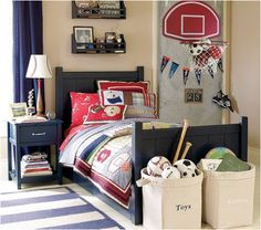 Young Boys Sports Bedroom Themes | Design Inspiration of Interior,room,and kitchen