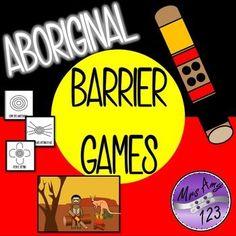 Aboriginal Barrier Games- Great for NAIDOC Week! Aboriginal Art For Kids, Aboriginal Dreamtime, Aboriginal Education, Indigenous Education, Aboriginal Culture, Indigenous Art, Indigenous Games, Aboriginal Symbols, Teaching Activities