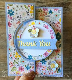 Altered Scrapbooking: Thank You Flip-it Card