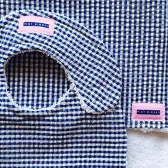 7763109c1f47 Nos clients en images: Une jolie étiquette rose rayée. Merci du partage  @tidydiners