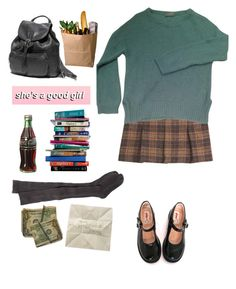 """dream ."" by nevermind90 ❤ liked on Polyvore featuring Jigsaw, American Vintage, 7 For All Mankind, Retrò, American Eagle Outfitters, outfit, school, teen and 90s"
