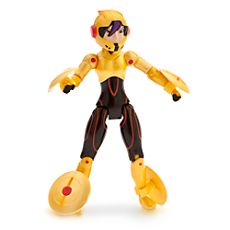 """Disney Store Go Go Tomago figure has a semi gloss finish and measures H. Nine points of articulation! She comes with four snap-on """"mag-lev discs"""". Disney Go, Baby Disney, Disney Movies, Disney Characters, Fictional Characters, Hero 6 Movie, Big Hero 6, Disney Merchandise, Disney Animation"""