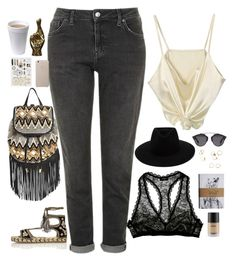 """Untitled #2796"" by wtf-towear ❤ liked on Polyvore featuring Cosabella, Topshop, River Island, Rebecca Minkoff, rag & bone and Christian Dior"