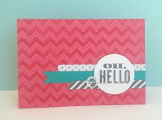 Stamping with embossing folders technique - no Big Shot reqd!  from Stampin' Up! corporate blog