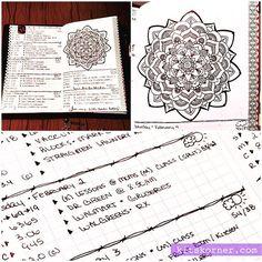 Up close in my Mandala (BuJo) Journal.. #kitskorner #bulletjournal #barbedwire #bujo #bulletjournaljunkies #bujojunkies #blackandwhite #bujolayout #journaling #journal #planner #traveljournal #mandala #mandalas #zendala #zendalas #zendoodles #journalart #freehand #mandalajournal #omnijournal #beyond100mandalas #meandmyinkpen #instadiary #doodles #pilot #papermate #washitape #midori #handlettering