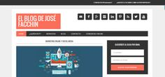 Blog Jose Facchin; Marketing Online, Marketing Turístico, WordPress.