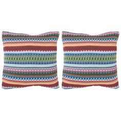 Bungalow Rose Glenoaks Geometric Throw Pillow & Reviews | Wayfair