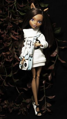 Monster High Clawdeen Wolf Dead Tired ooak doll | Flickr - Photo Sharing!