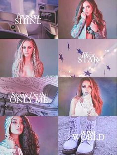 I'm gonna shine like a star, cos I'm the only me in this world- Little Mix - Free HD Wallpapers Jesy Nelson, Perrie Edwards, Musica Little Mix, Little Mix Photoshoot, Little Mix Lyrics, My Girl, Cool Girl, Little Mix Girls, Litte Mix