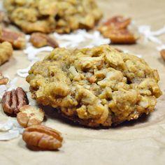 Oatmeal Coconut Pecan Cookies