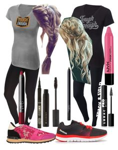 """""""Isabelle """"Belle"""" Woods WWE Tough Enough outfits."""" by blackwidowajlee ❤ liked on Polyvore"""