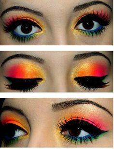 Carnival makeup inspiration