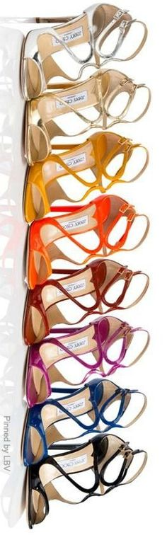 When The Jimmy Choo Fits, Buy One In Every Color SHOPPING QUEENS!! ......... {The Flavors of Jimmy Choo Lance Sandal   LBV ♥✤}
