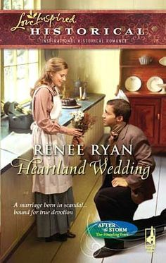(ALREADY READ) (BOOK 3) Heartland Wedding by Renee Ryan: Harlequin Love Inspired Historical Inspirational Romance