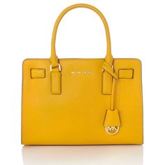 43a44f6a08 Dillon Sun Yellow Medium Tote Bag by MICHAEL Michael Kors Outlet Michael  Kors, Borsette Michael