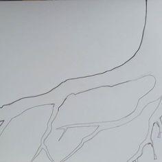 #Treeroots or #treetop #ourplanet #greenworld #naturelovers #shapes #dowhatyoulove #artistoninstagram #wit #artisessentialsas #paintingonheartsideofbrain #susanneszippl #dailydoodle #doodleaday