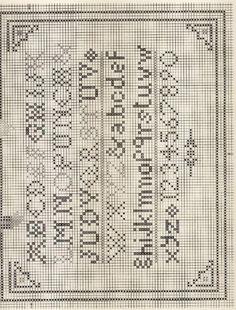 The Prairie Schooler Punch & Judy Cross Stitch Sampler Patterns, Cross Stitch Freebies, Cross Stitch Samplers, Cross Stitch Designs, Cross Stitching, Cross Stitch Embroidery, Cross Stitch House, Cross Stitch Heart, Cross Stitch Alphabet