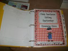 Common Core Daily Language Practice & Organization!