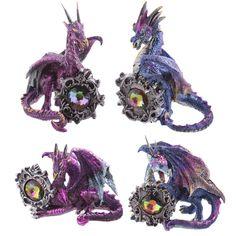 Celtic+Gemstone+Dark+Legends+Dragon+Figurine