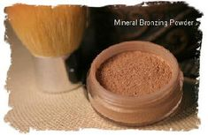 Mineral Makeup Bronzer Powder Recipe | The Ponte Vedra Soap Shoppe, Raw Materials for Bath & Body