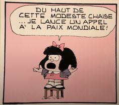 Qui êtes-vous Mafalda ? Un portrait signé Anne Douhaire Illustration © AD