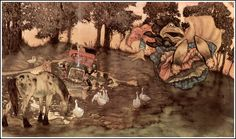 Michael Hague wind in the willows