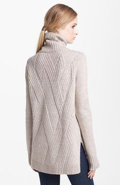 Vince 'Travelling' Ribbed Turtleneck Sweater | Nordstrom