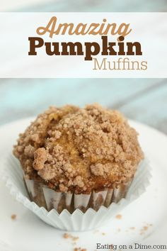 Try this easy Pumpkin Muffin Recipe for breakfast for a fun dessert. Either way, I think your family will love it.