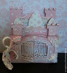Мини-альбом для принцессы - розовый,альбом для девочки,принцесса,рамка для фото