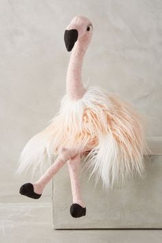 Flavia Flamingo - anthropologie.com I need this more than anything in my life.