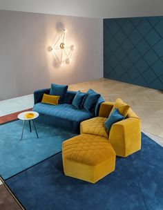 Modern minimalist living room design is enormously important for your home. Sofa Design, Canapé Design, Interior Design, Floor Seating, Lounge Seating, Living Room Sofa, Living Room Decor, Living Rooms, Sofa Furniture