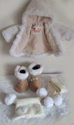 Outfit from Soul of a rag doll Sewing Doll Clothes, Sewing Dolls, Girl Doll Clothes, Doll Clothes Patterns, Barbie Clothes, Doll Patterns, Tiny Dolls, Soft Dolls, Pretty Dolls