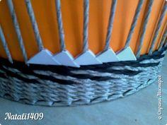 Мастер-класс Поделка изделие Оригами китайское модульное Плетение Соединяем техники Бумага Бумага газетная Трубочки бумажные фото 13