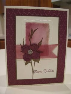 Stacked flower by pvilbaum - Cards and Paper Crafts at Splitcoaststampers