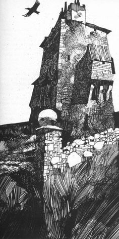 Illustration by Sergio Toppi Art And Illustration, Black And White Illustration, Illustrations And Posters, Comic Layout, Tinta China, Art Graphique, 2d Art, Comic Artist, Comic Books Art