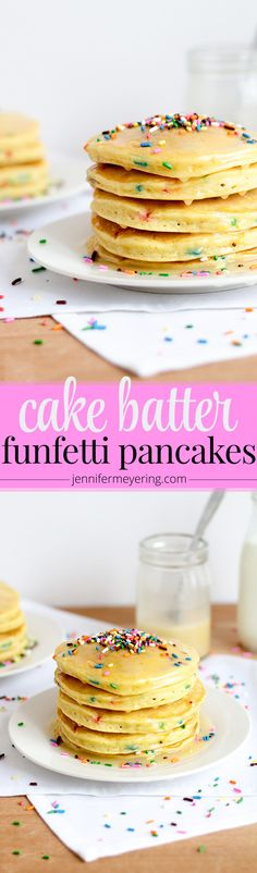 These fun pancakes start with a box of cake mix for sweet, fluffy pancakes anyone will . Total Time: 30 minutes Skip to Recipe | Recipe It has been raining here for the past two weeks straight. I feel like