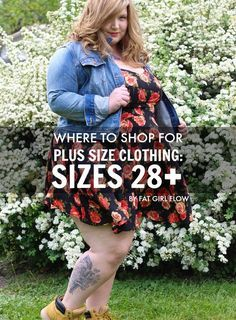 The Militant Baker: WHERE TO SHOP FOR PLUS SIZE CLOTHING: SIZES 28+ // BY FAT GIRL FLOW