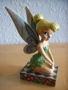 "Jim Shore Disney Tinker Bell ""A Pixie Delight"" Statue"