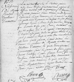 Acte de naissance d'Elisabeth Charlotte Caroline d'Avanture (1806)